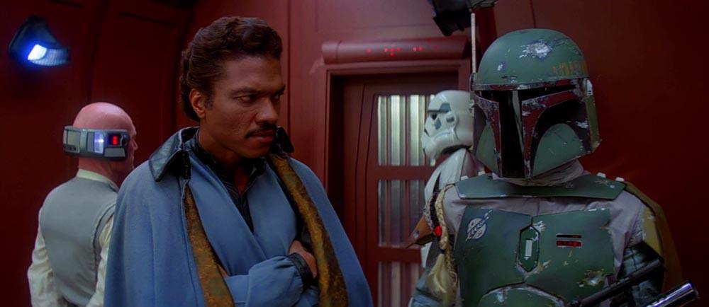 Boba Fett e Lando Calrissian Star Wars L'Impero Colpisce Ancora film personaggi