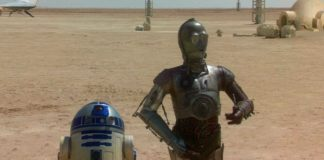 R2-D2 C3PO droidi tatooine