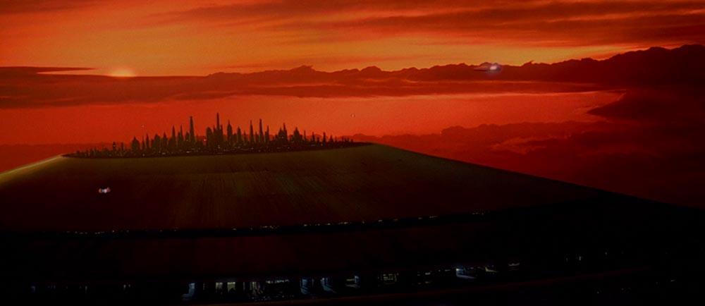 Città delle Nuvole Bespin Star Wars L'Impero Colpisce Ancora