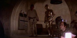 Mos Eisley Cantina Luke C3PO R2-D2
