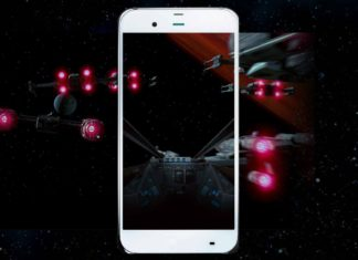 smartphone star wars x-wing