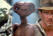 Yoda, ET e Indiana Jones