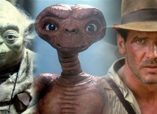 Yoda, ET e Indiana Jones