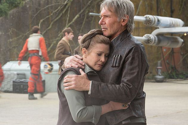 relazione tra Carrie Fisher e Harrison Ford sul set di Star Wars
