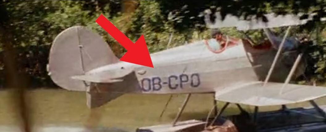 sogno di han solo star wars riferimenti aereo indiana jones i predatori dell'arca perduta