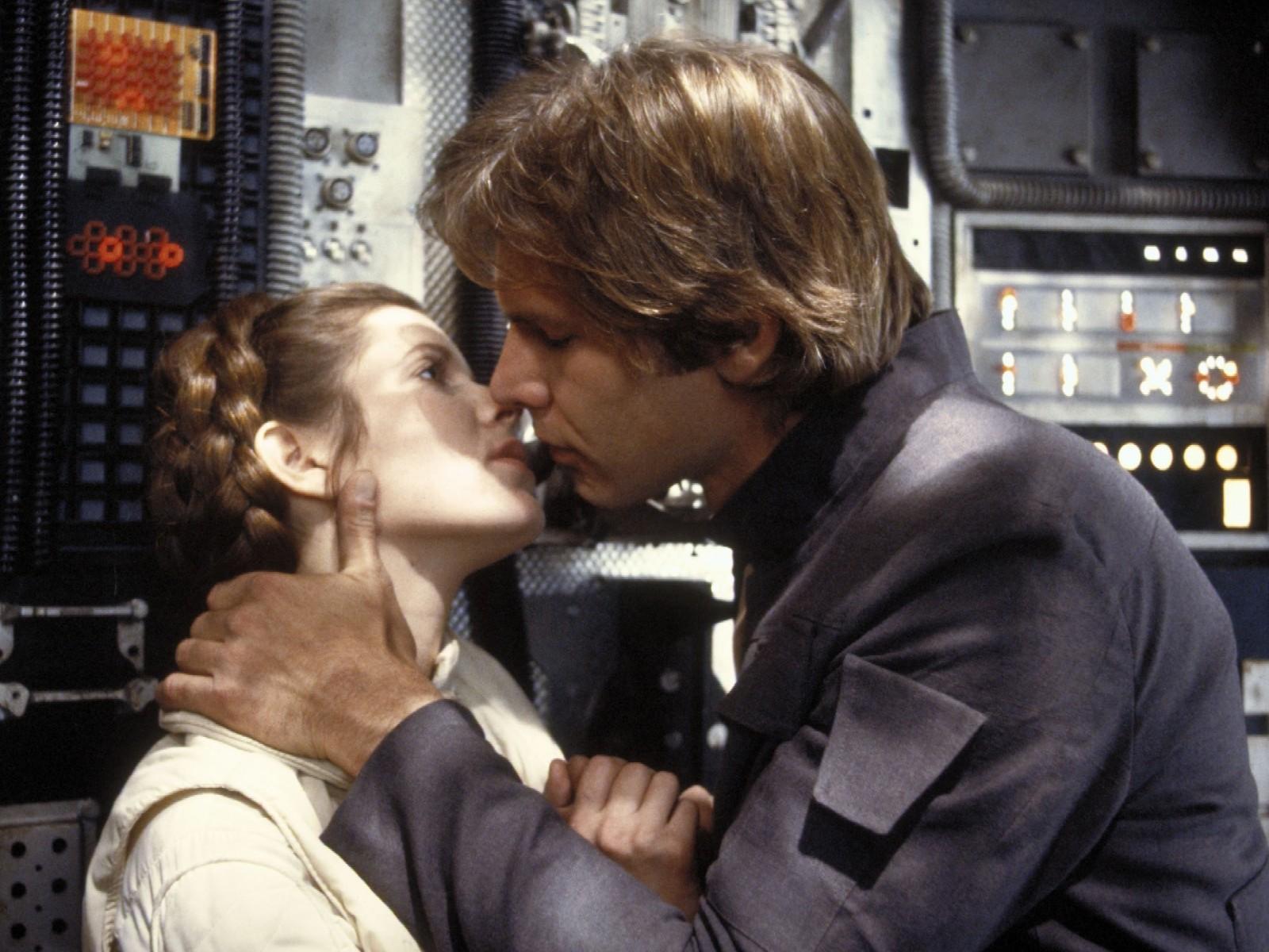 cordoglio di Harrison Ford per Carrie Fisher in Star Wars