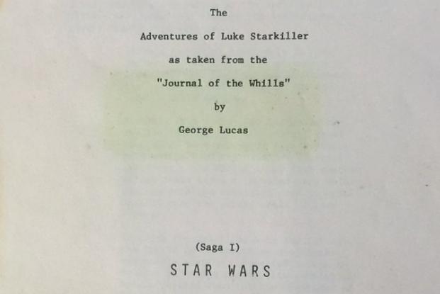 intervista e scommessa tra lucas e spielberg copertina originale Star Wars una nuova speranza