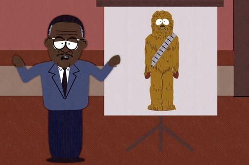 la difesa chewbacca nella serie tv south park