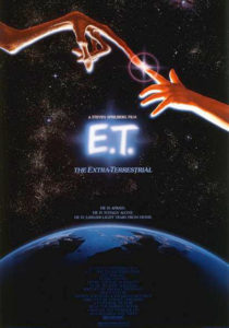 e.t. extra-terrestre film locandina