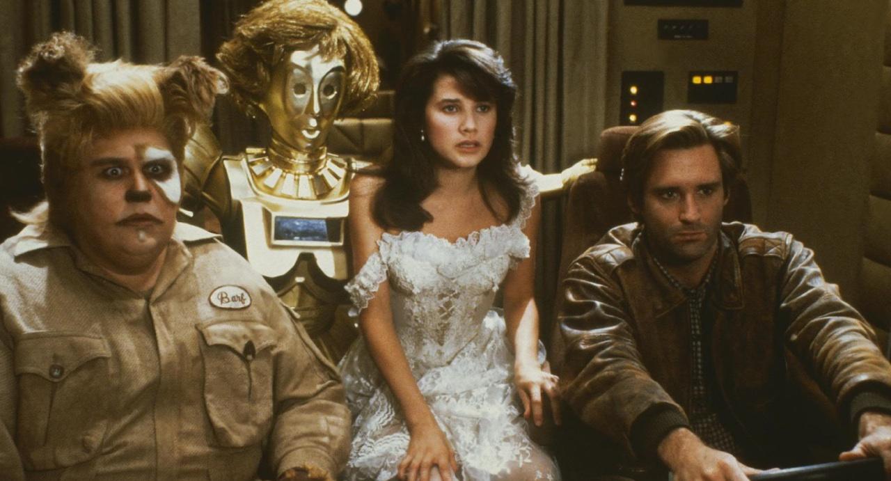 la parodia di star wars balle spaziali film