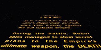 i titoli di testa di star wars non ci sono in rogue one