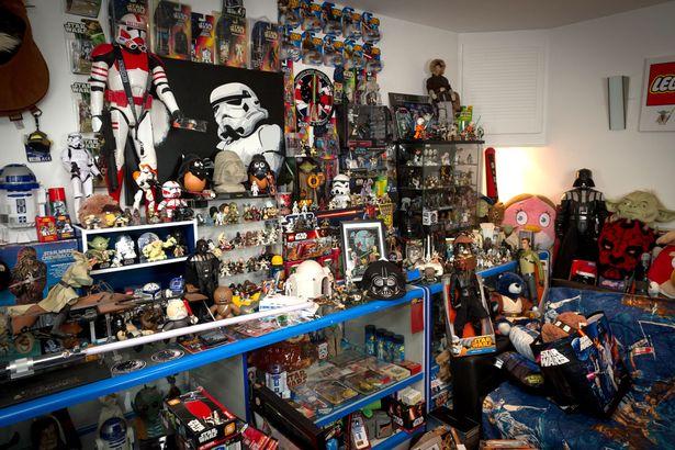 fan e collezione di oggetti di Star wars merchandise una nuova speranza
