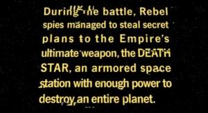 i titoli di testa di star wars non ci saranno in rogue one