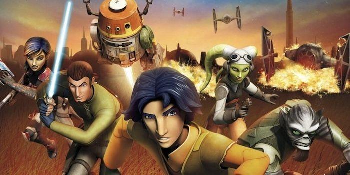 recensione serie tv Star Wars rebels e personaggi