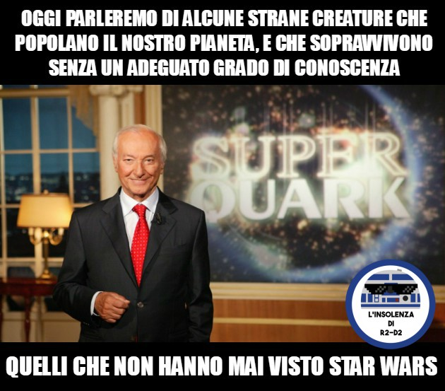Piero Angela e Star Wars