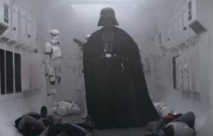 darth vader in star wars una nuova speranza ingresso marcia imperiale