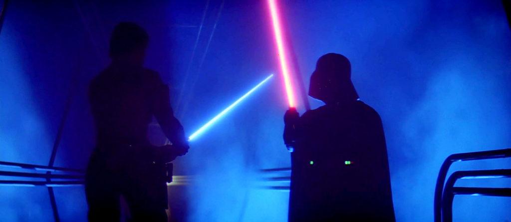 spada laser duello L'impero colpisce ancora