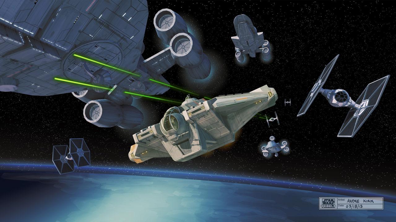 recensione di serie tv star wars rebels