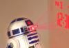 star wars sveglia r2-d2 digitale ologramma suoni