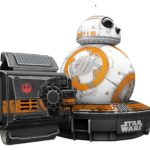 star wars regalo drone droide bb8 con force band