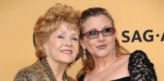 debbie reynolds carrie fisher madre figlia star wars