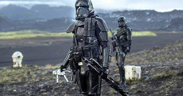 stormtrooper death trooper rogue one scene