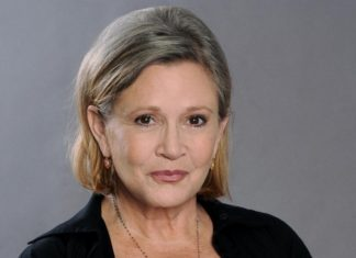 Episodio IX star wars in terapia intensiva l'attrice Carrie Fisher colpita da infarto in volo