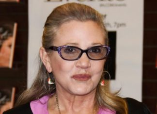 Carrie Fisher difende dalle molestie Principessa Leia Star Wars Morta