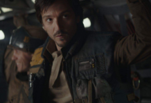 rogue one film cupo con 5 scene crude