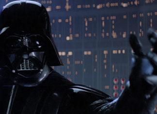 armatura di Vader e segreto di io sono tuo padre in star wars