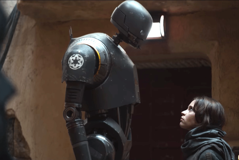 K-2SO droide star wars rogue one