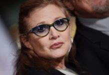 carrie fisher ospedale terapia intensiva attrice star wars