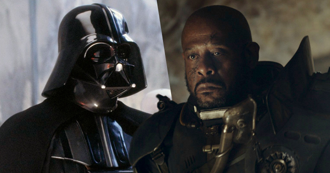 rumor scene tagliate darth vader in rogue one