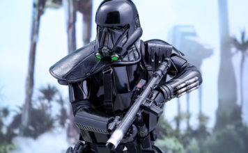 death troopers rogue one blaster film