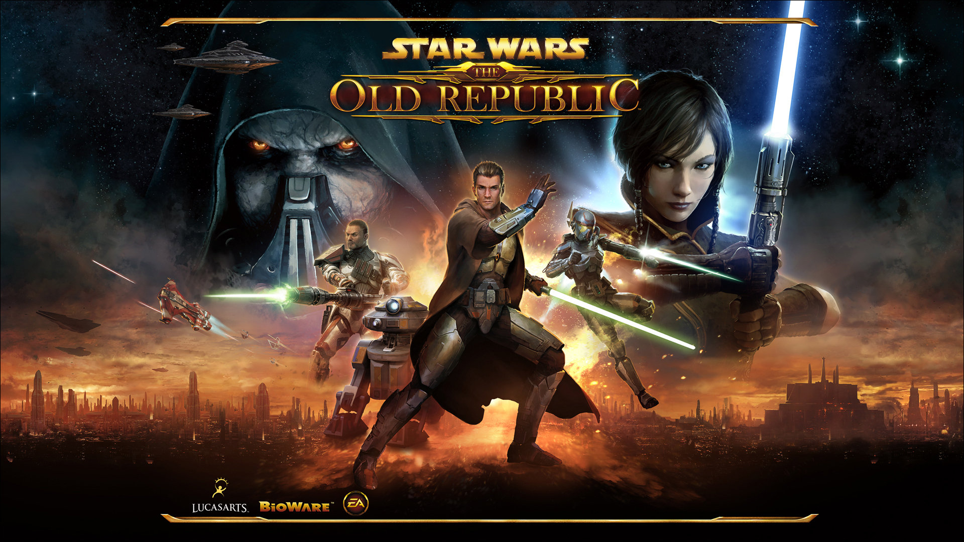 gioco star wars the old republic saluto a carrie fisher