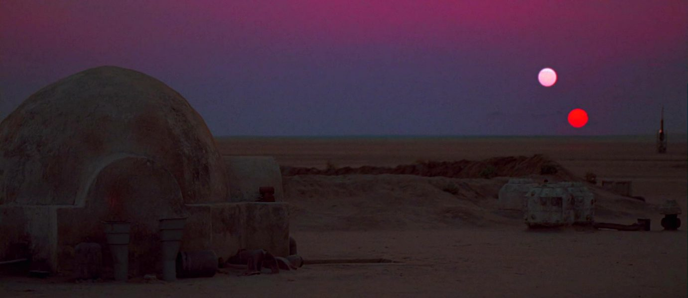 tatooine due soli pianeti star wars episodio iv una nuova speranza
