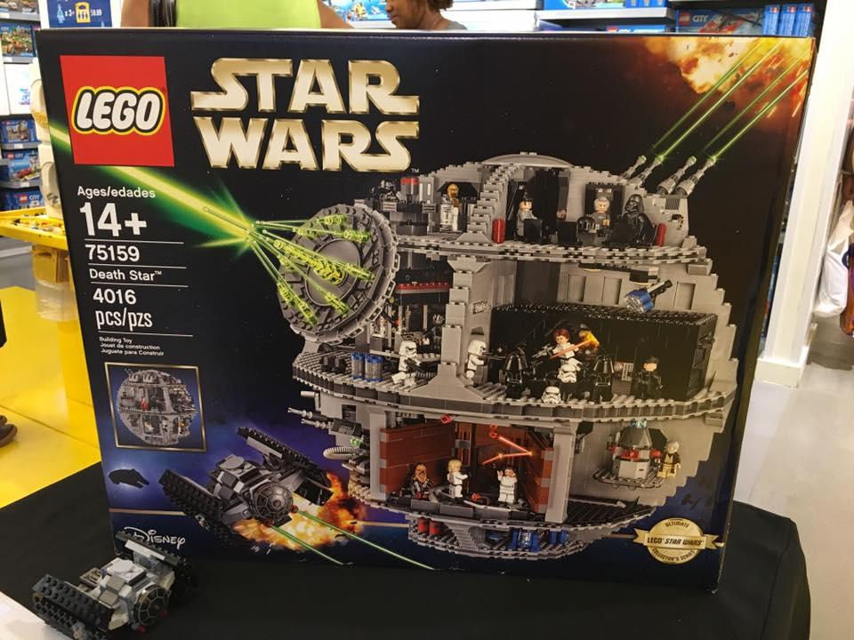 LEGO morte nera death star star wars 2016