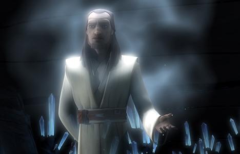 qui gon jinn spirito della forza clone wars