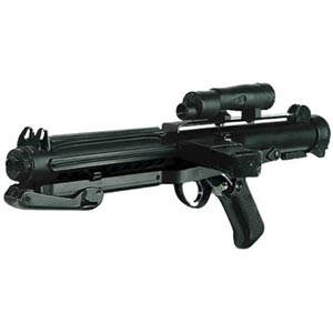 blaster e-11 star wars arma d'assalto imperiale soldati