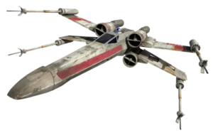 render x-wing caccia stellare star wars