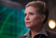 carrie fisher disney assicurazione morte episodio vii leia