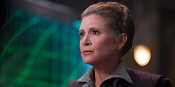 destino di leia tra gli ultimi jedi carrie fisher morte screenntime