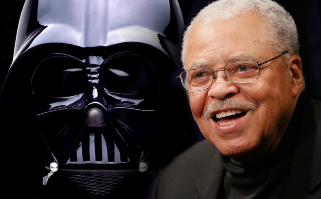 james earl jones tra gli attori che hanno fatto darth vader in star wars