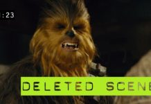 violenza di chewbacca scena tagliata episodio VII star wars