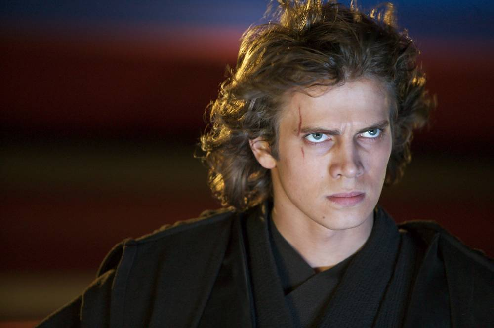 Hayden Christensen tra gli attori interpretano darth vader anakin in star wars