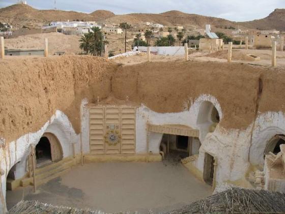 tunisia hotel e set in abbandono di star wars