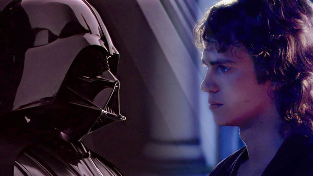 profezia del prescelto star wars anakin skywalker darth vader