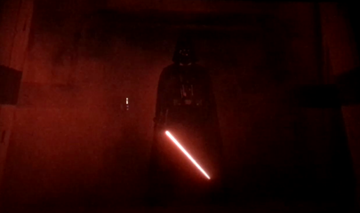 reshoot scena finale di darth vader in rogue one