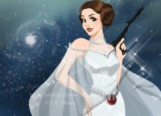 leia di star wars principessa disney petizione