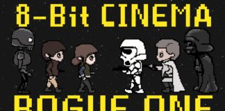rogue one videogioco in 8-bit
